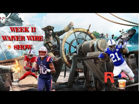 Fantasy Football Waiver Wire Show week 11