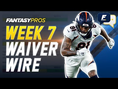 Week 7 Waiver Wire Pickups with Dan Harris and Kyle Yates (2020 Fantasy Football)