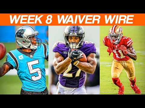 Waiver Wire Adds Week 8 Fantasy Football 2020
