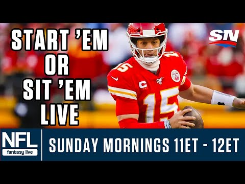 Week 2 NFL Fantasy LIVE: Start 'Em & Sit 'Em, DFS Value Plays & More!