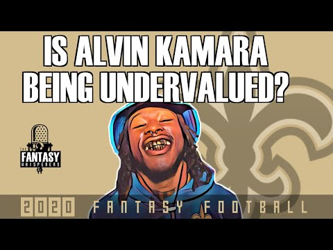 Fantasy Football Advice – Is Alvin Kamara being UNDERVALUED?
