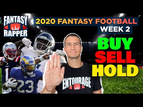 2020 Fantasy Football Week 2 Trade Targets