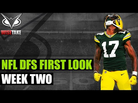 NFL DFS Week 2 First Look | Game by Game | DraftKings & FanDuel Strategy