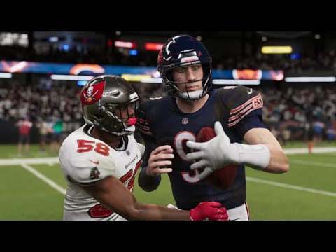 Chicago Bears vs Tampa Bay Buccaneers Full Game | NFL Thursday Night Football 10/8 NFL Week 5 Madden