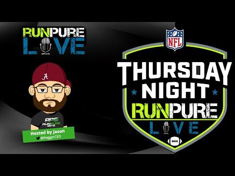 NFL Thursday Night Football: Buccaneers vs Bears   Run Pure LIVE