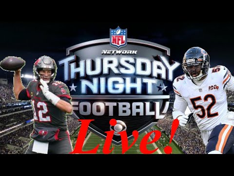 Thursday Night Football | Tampa Bay Buccaneers at Chicago Bears Game Live Reaction!