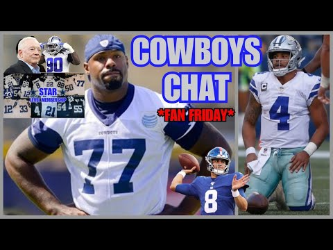 COWBOYS CHAT: Tyron Smith OUT For 2020! Injury UPDATES; Defeating Lil' Giants; *FAN FRIDAY* RAFFLE!