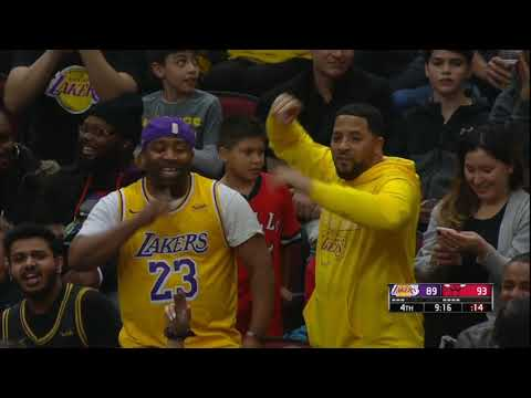 Lakers chants break out at the United Center. Lakers vs Bulls. November 5, 2019.