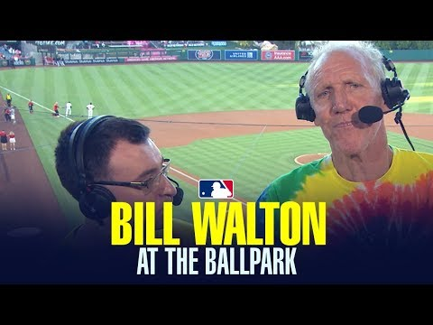 The Best of Bill Walton's amazing calls in the booth