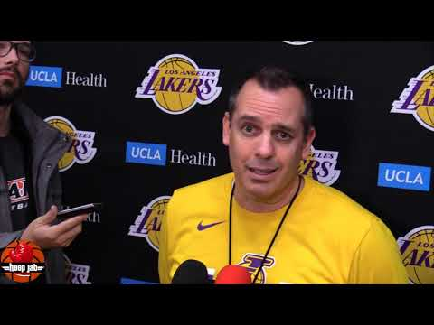 Lakers Coach Frank Vogel On The Luka Doncic vs LeBron James Comparisons. HoopJab NBA