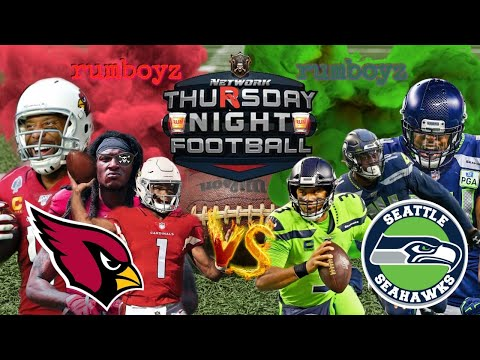 Arizona Cardinals vs Seattle Seahawks Thursday Night Football week 11