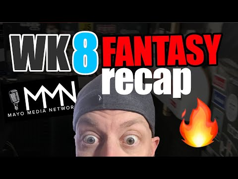 2020 Fantasy Football Week 8 Recap | NFL Injuries | 2020 Week 9 Pickups