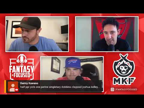 NFL Week 8 Fantasy Football LIVE Show – Start/Sit Q & A w/ Fantasy Focused