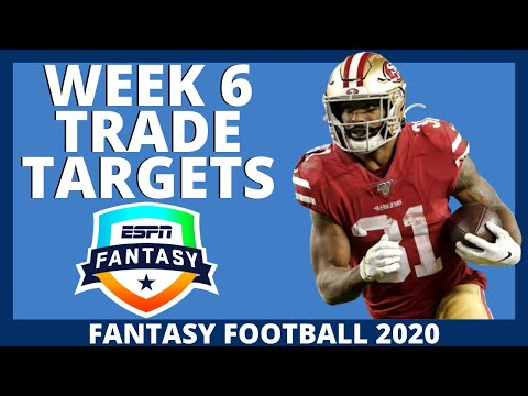 2020 Fantasy Football Trade Targets – Week 6