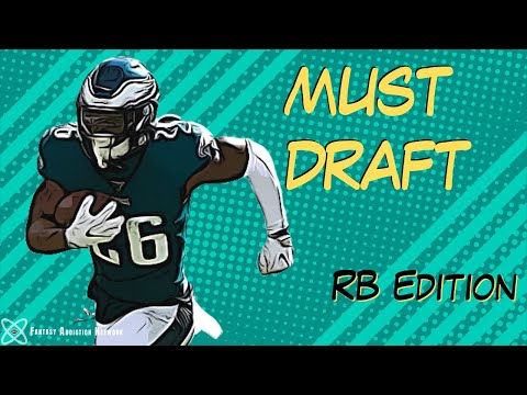 MUST DRAFT RUNNING BACKS | Fantasy Football 2020 | MY GUYS