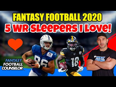 5 Fantasy Football WR Sleepers I love in 2020