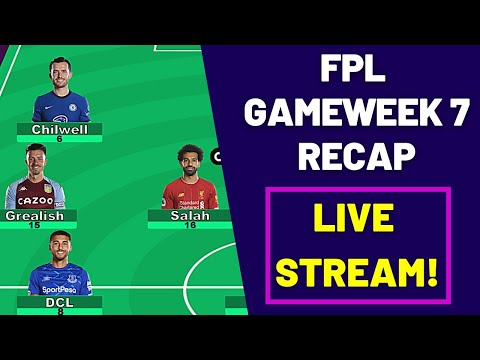 FPL GW 7 Recap LIVE STREAM! | Grealish hauls! | Aub finally scores! | Fantasy Premier League 2020/21