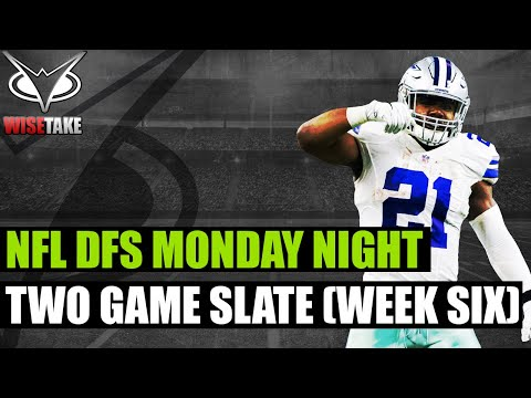 NFL DFS Picks – Monday Night Football Week 6 | DraftKings & FanDuel
