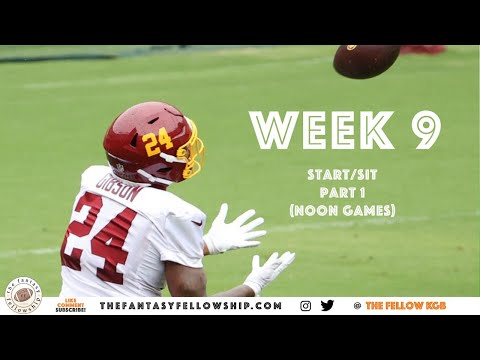 2020 Fantasy Football – Week 9 Start/Sit Part 1