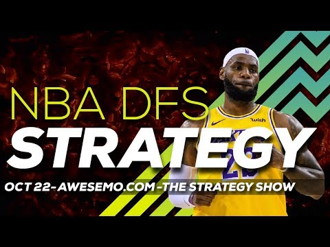 NBA DFS Strategy – Tue 10/22 – Yahoo FanDuel DraftKings FantasyDraft  – Awesemo.com