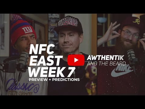 Giants Vs Eagles Pre Game Show NFC East Rivalry Week Awthentik and The Beard NFL Week 7 Preview