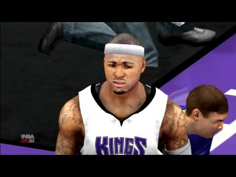 NBA 2K16 Portland Trail Blazers vs Sacramento Kings PS3 HD