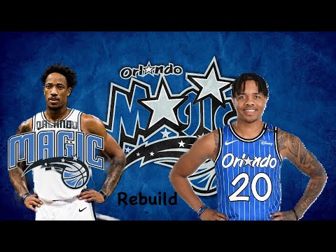 Demar Derozan Traded To The Orlando Magic!!! Nba 2k20 Rebuild