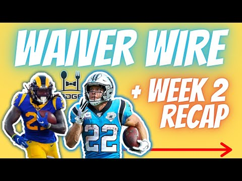 Top Week 3 Waiver Wire Targets for Fantasy Football + Full Week 2 Recap