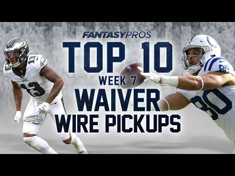 Top 10 Week 7 Waiver Wire Pickups (2020 Fantasy Football)
