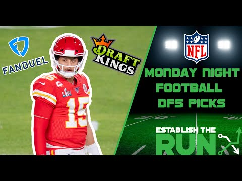 Monday Night Football DFS NFL Picks | Patriots-Chiefs, Falcons-Packers