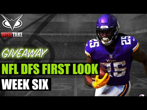 NFL DFS Week 6 First Look | Game by Game | DraftKings & FanDuel Strategy