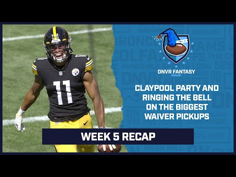 Claypool party and ringing the Bell on the biggest waiver pickups after Week 5 | DNVR Fantasy