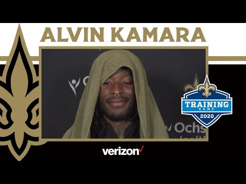 "Alvin Kamara: ""I feel good. I'm back"" 