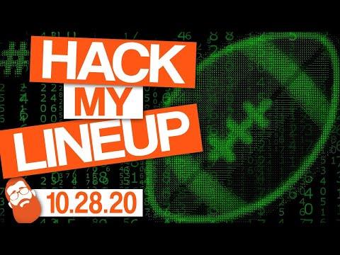 Start em Sit em Week 8 Fantasy Football 2020 #HackMyLineup