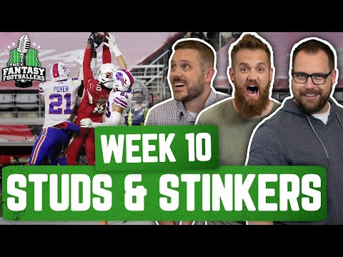 Fantasy Football 2020 – Week 10 Studs & Stinkers + Andy Returns, Hoptimus Prime! – Ep. #985