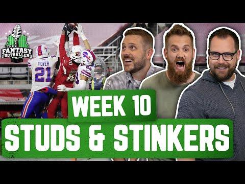 Fantasy Football 2020 – Week 10 Studs & Stinkers + Andy Returns, Hoptimus Prime! – Ep. #985