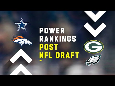 Post NFL Draft Power Rankings!