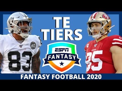 2020 Fantasy Football Rankings – Tight End Rankings With Tiers