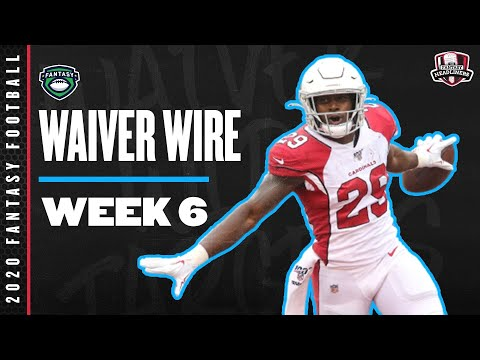 2020 Fantasy Football Rankings – Week 6 Top Waiver Wire Players To Target – Fantasy Football Advice