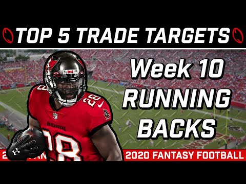 Week 10 Running Back Trade Targets || Trade Strategy || 2020 Fantasy Football Advice