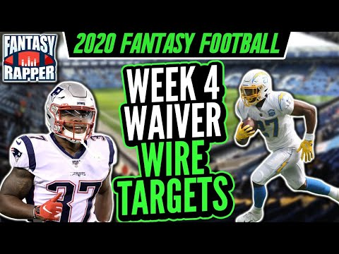 2020 Fantasy Football Week 5 Waiver Targets