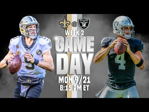 New Orleansvs Las Vegas LIVE |  Monday Night Countdown  | NFL Week 2