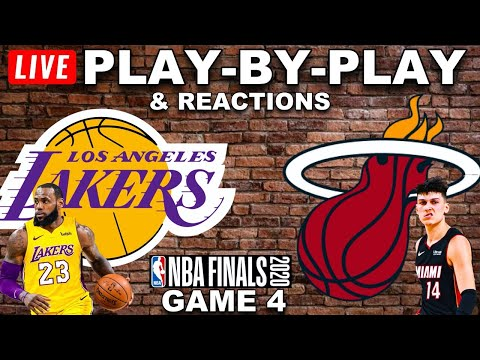 Lakers vs Heat Game 4 Live Play-By-Play