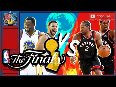 🏀NBA FINALS 2019 LIVE STREAM Game 1 Golden State Warriors vs Toronto Raptors LIVE REACTION  HANGOUT