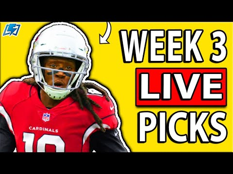 DRAFTKINGS NFL PICKS WEEK 3 DFS PICKS LIVE | 2020 Fantasy Football