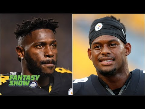JuJu Smith-Schuster vs. Antonio Brown: Matthew Berry picks 1 for fantasy football | The Fantasy Show