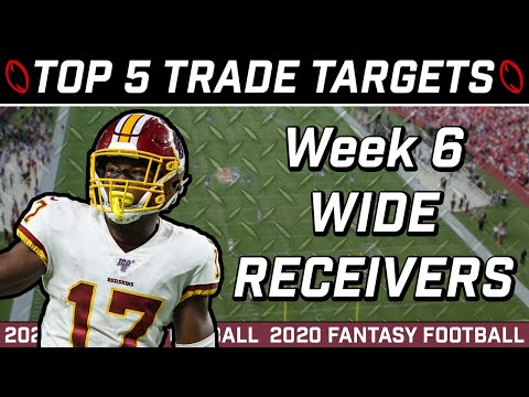 Week 6 Wide Receiver Trade Targets || 2020 Fantasy Football Advice