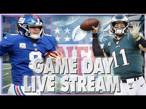 🔴New York Giants vs Philadelphia Eagles Pregame & Play by Play