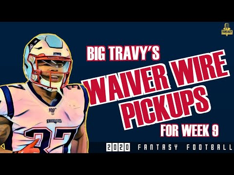 Fantasy Football Advice – Week 9 Waiver Wire + Replacing Kittle