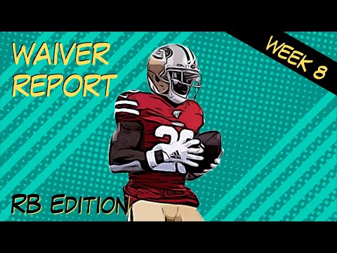 Fantasy Football Waiver Wire Report – WEEK 8 RUNNING BACKS